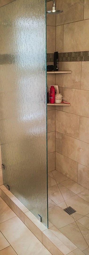 Rain Splash Panel with Clamps