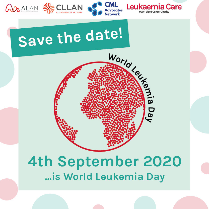 World Leukemia Day - Save the Date Graph