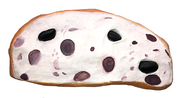 Olive Bread with Removable Olives