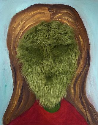 Alien Fur Portrait