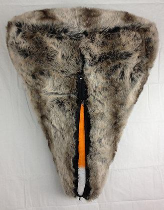 Candy Corn in Fur Coat
