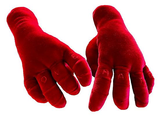 Red Velvet Hands