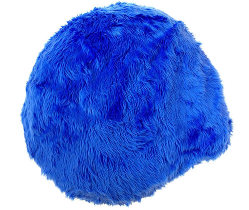 Cinnamon Bun in Blue Fur