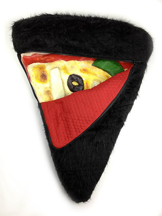 Pizza with Fur Coat