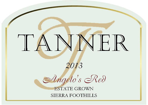 2013 Angelo's Red