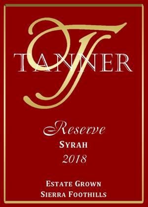2018 Reserve Syrah