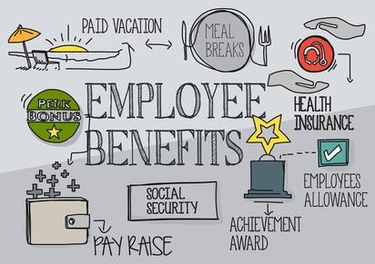 employee benefits, health insurance, vacation