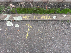 "Fiona Haasz ""Art is Here"""