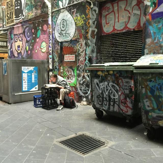 Alley dweller