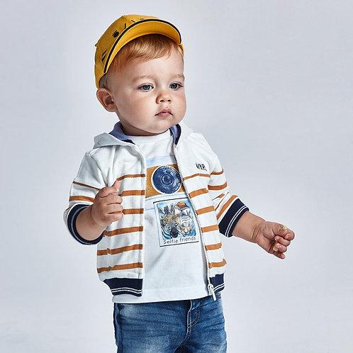 Camisola PLAY WITH estampado lenticular bebé menino