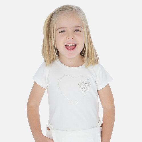 T-shirt laço menina