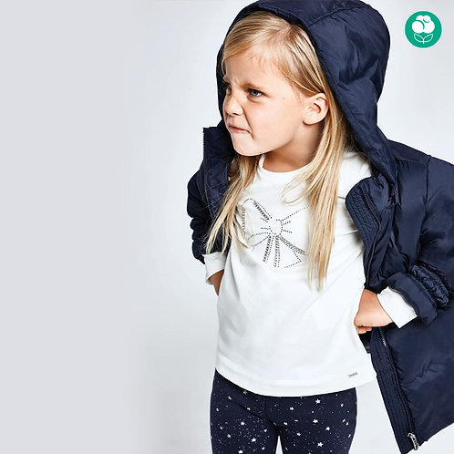 Camisola manga comprida básica menina