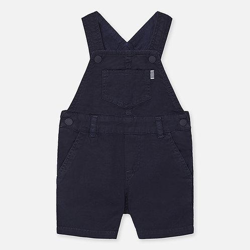 Jardineira curta  bebé menino