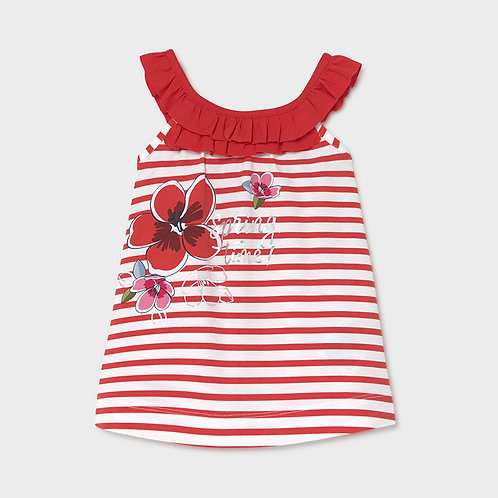 Vestido malha bebé menina