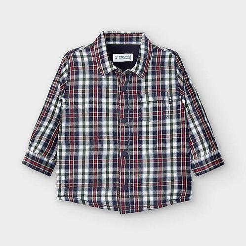 Sobre camisa forrada bebé menino