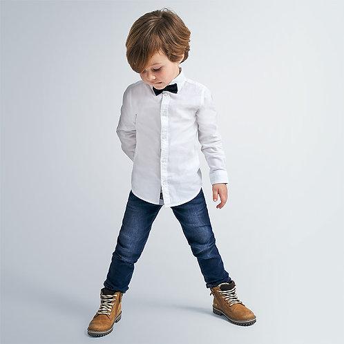 Calça regular fit menino