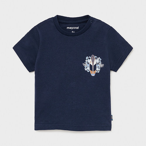 T-shirt surf Ecofriends bebé menino