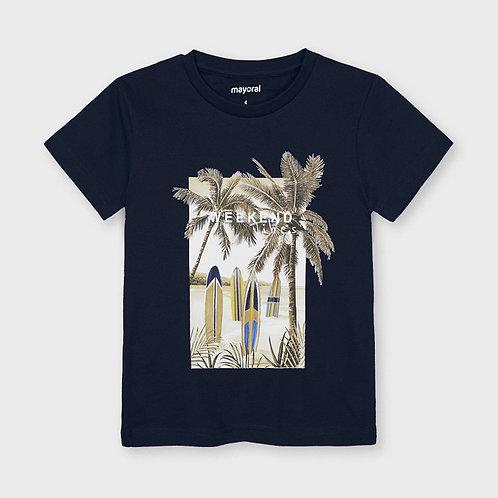 T-shirt algodão sustentável Ecofriends menino