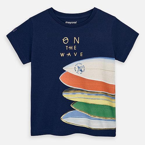 T-shirt pranchas menino