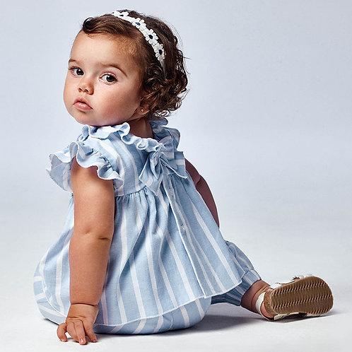Blusa folho bebé menina