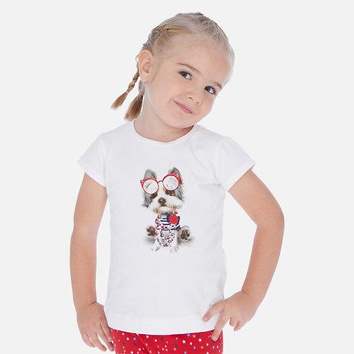 Camisola manga comprida menina