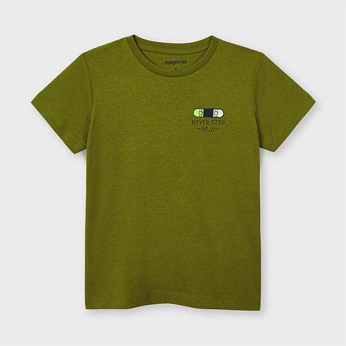 T-shirt ECOFRIENDS never stop menino