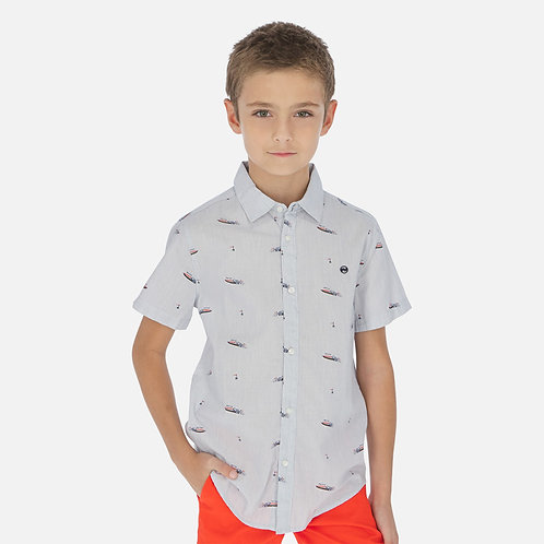 Camisa manga curta estampado menino