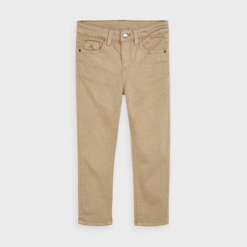 Calça básico bolsos slim fit menino