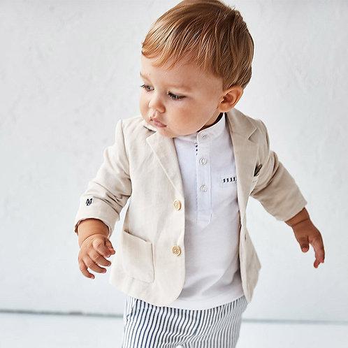 Camisola gola padeiro bebé menino
