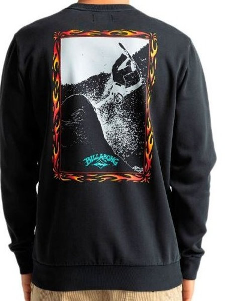 Sweat Básica Billabong PAST LOVE CR