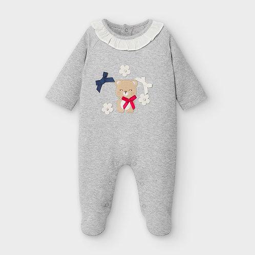 Pijama malha recém nascido menina