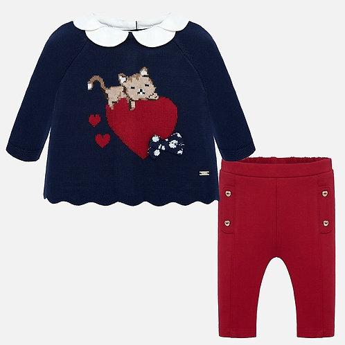 Conjunto calça e jersey