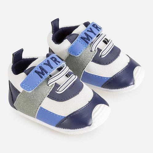 Sapatos logótipo bebé recém nascido