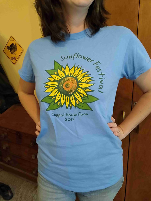 Adult T-shirt - Sunflower Festival