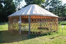 Open Air Yurt