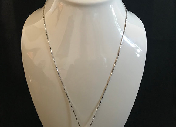 Necklace, Football Helmet - Silver
