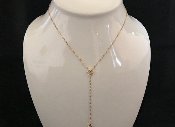 Necklace, Lariat,Skull