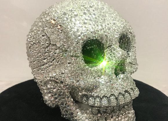 Skull, Swarovski Crystals