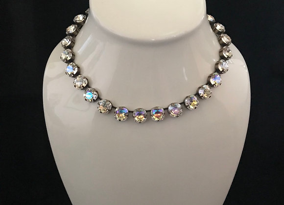 Necklace, Cubic Zirconia, Cushion Cut