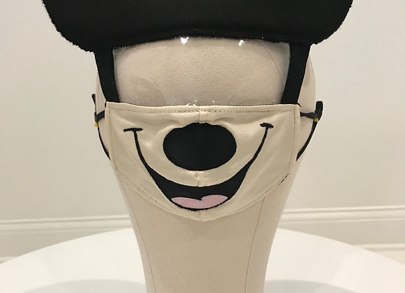 MICKEY MOUSE, character face shield, GLAMical face mask