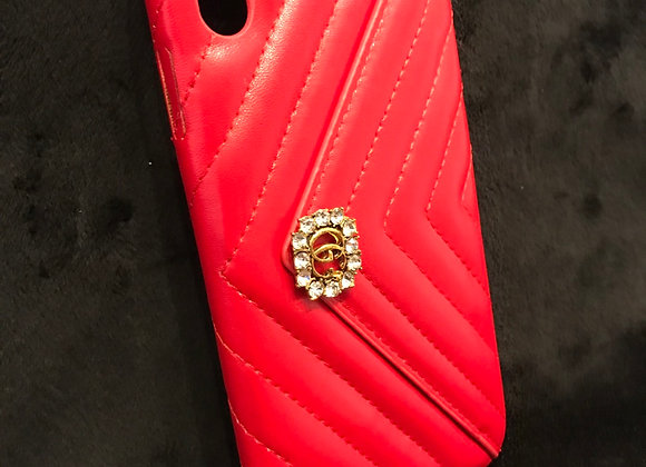 CELL PHONE CASE, Gucci, Red, iphone XS Max