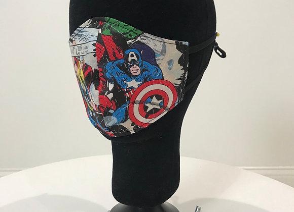 MARVEL & DC COMICS, GLAMical face mask