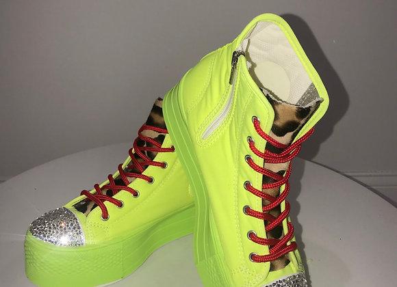 Max StarFluorescentPlatform Tennis Shoes