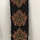 Thumbnail: Table Runner, Baroque Applique, Reversiblw, Black Fringe