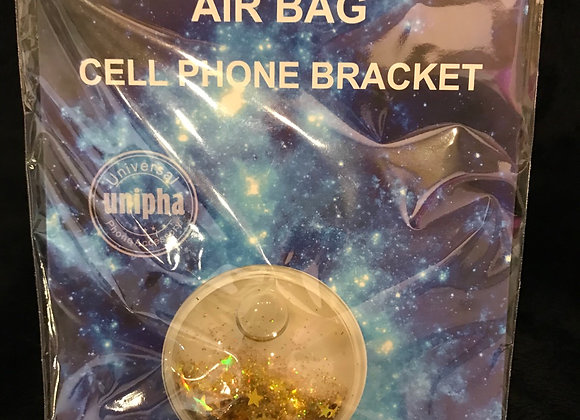 CELL PHONE - Pop Sockets, Phone Grip & Stand, Gold Stars Crystals