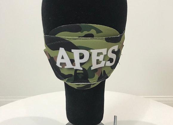 BAPE Replica Fashion face mask, APES Camo, 2 colors