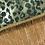 Thumbnail: Table Runner, Green Animal Print Sequin, Beaded Fringe