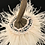 Thumbnail: Pumpkin, Cream, Blush Ostrich Feathers