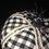 Thumbnail: Pumpkin, Black/White Check, rhinestone trim & Chanel Tweed