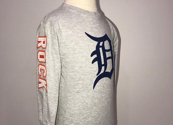 DETROIT TIGERS Rock City, L/S Crew Neck Sweatshirt